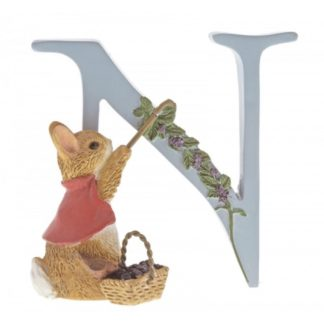 """N"" Cotton-tail - Peter Rabbit Letter 