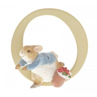 """O"" Peter Rabbit - Peter Rabbit Letter 