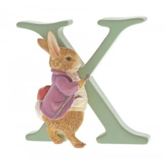 """X"" Old Mr Benjamin Bunny - Peter Rabbit Letter 