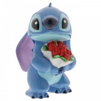 Disney Traditions: Stitch Flowers Figurine | LeVida Toys