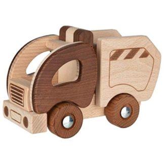 Goki Nature Garbage Truck | LeVida Toys