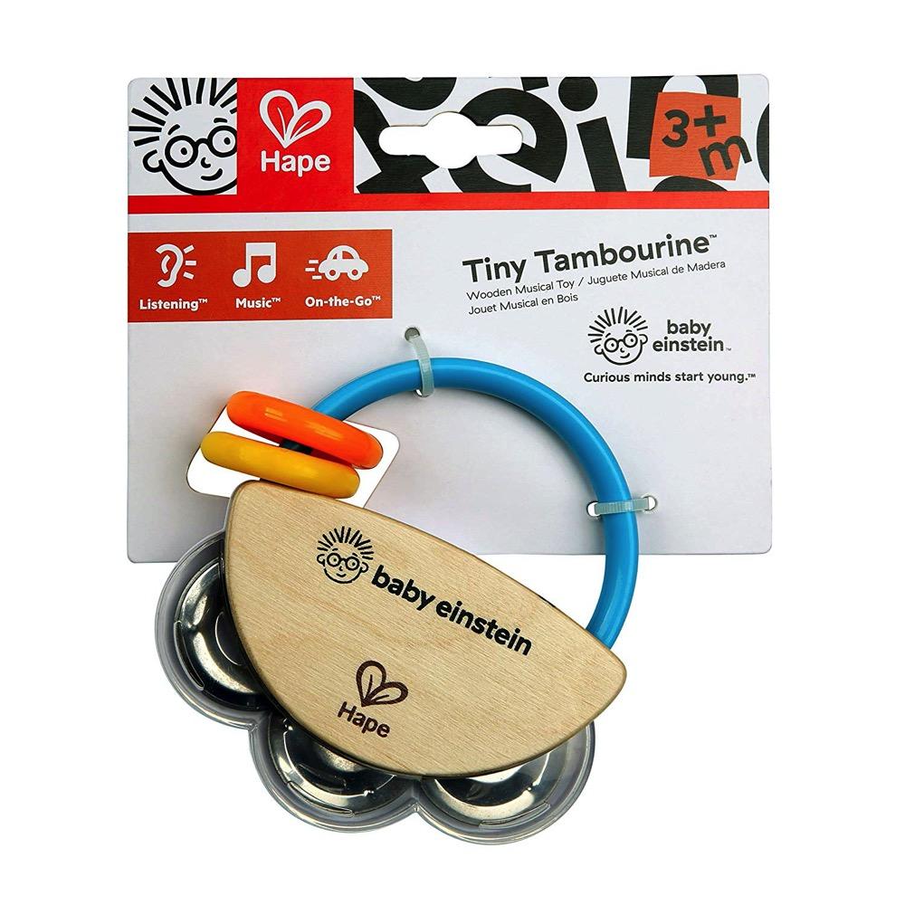 Baby Einstein Tiny Tambourine by Hape | LeVida Toys