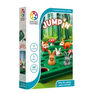 Smart Games Jump In - Compact Puzzle Game | LeVida Toys