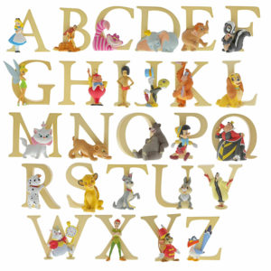 Enchanting Disney Collection - Letters