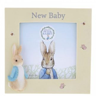 Peter Rabbit New Baby Photo Frame | LeVida Toys