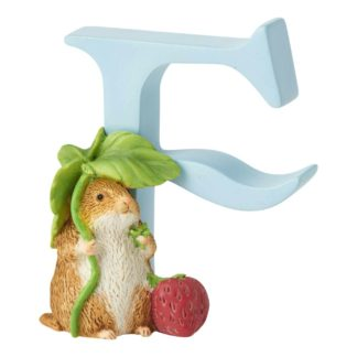 """F"" Timmy Willie - Peter Rabbit Letter   LeVida Toys"