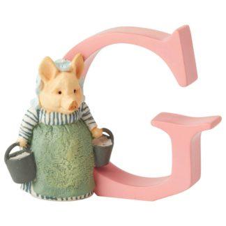 """G"" Aunt Petitoes - Peter Rabbit Letter | LeVida Toys"