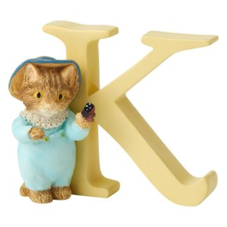 """K"" Tom Kitten - Peter Rabbit Letter 