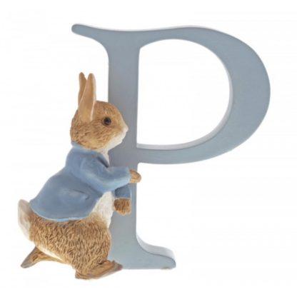 """P"" Running Peter Rabbit - Peter Rabbit Letter | LeVida Toys"