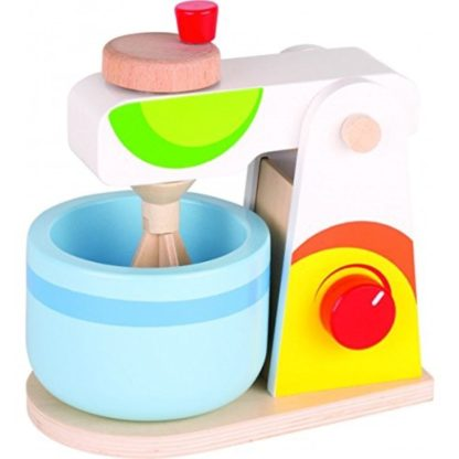Goki: Food Mixer - Wooden Play Kitchen Toy | LeVida Toys