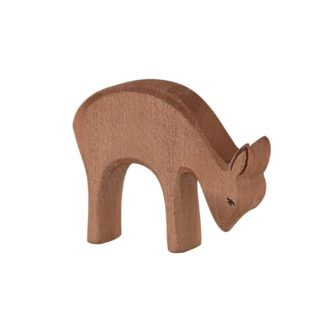 Deer (eating) (Ostheimer 15303) - Wooden Animal Figure | LeVida Toys