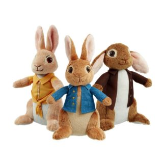 Peter Rabbit, Mopsy & Benjamin Buuny (set of 3) | LeVida Toys