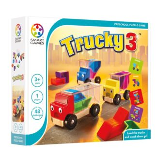 Smart Games Trucky 3 - Prescholl Puzzle Game | LeVida Toys