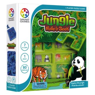 Smart Games Jungle Hide & Seek - Classic Puzzle Game | LeVida Toys