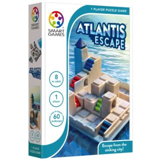 Smart Games Atlantis Escape - 1 player puzzle game | LeVida Toys