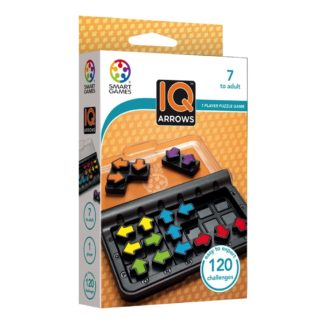 Smart Games IQ Arrows - Pocket Puzzle Game | LeVida Toys