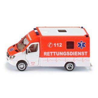 Mercedes German Ambulance (Siku 2108) | LeVida Toys