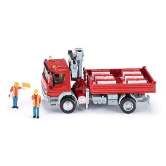 Mercedes-Benz Atego with Crane (Siku 3534) | LeVida Toys