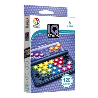 Smart Games IQ Stars - Pocket Puzzle Game | LeVida Toys