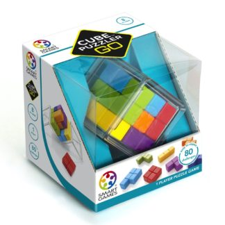 Smart Games Cube Puzzler Go - Pocket Puzzle Game | LeVida Toys