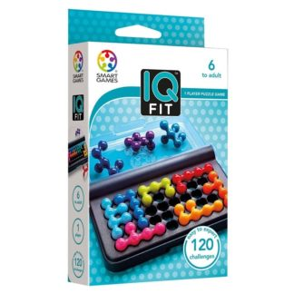 Smart Games IQ Fit - Pocket Puzzle Game | LeVida Toys