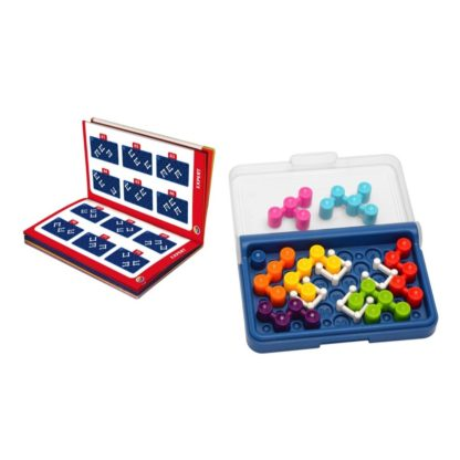 Smart Games IQ Blox - Pocket Puzzle Game | LeVida Toys