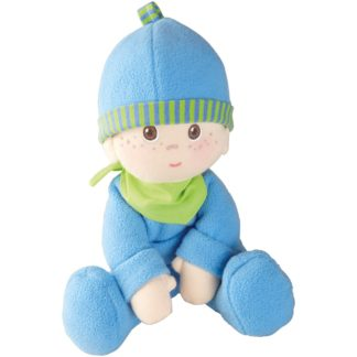 Fabric Luis Snug-Up Doll by Haba (002617) | LeVida Toys