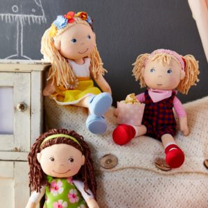 Fabric Wiebke Doll by Haba (303664) | LeVida Toys