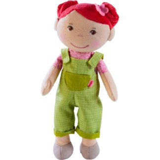Fabric Dorothea Snug-Up Doll by Haba (303732) | LeVida Toys