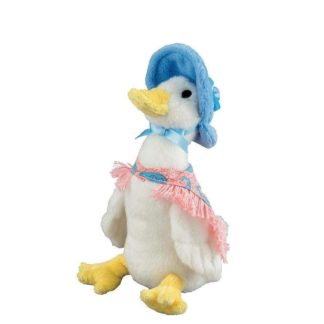 Jemima Puddle-Duck small soft toy by Gund | LeVida Toys