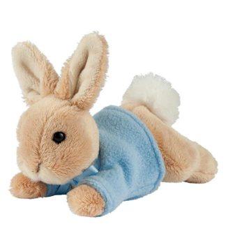 Lying Peter Rabbit small soft toy by Gund   LeVida Toys