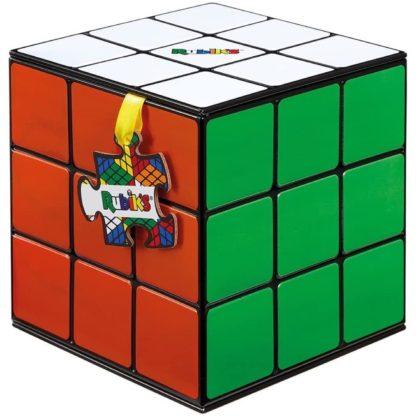 Rubik's Cube Puzzle in Shaped Tin (500 Pieces)   LeVida Toys