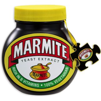 Large Replica Marmite Jar Jigsaw with Double Sided Puzzle (500 pce) | LeVida Toys