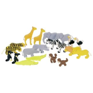 Goki African Animals Set (53942) | LeVida Toys