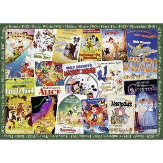 Disney Vintage Movie Poster Jigsaw (1000 pieces) | LeVida Toys