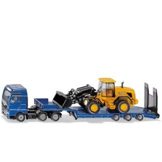 MAN truck with Low Loader and JCB Wheel Loader (Siku 1790)   LeVida Toys
