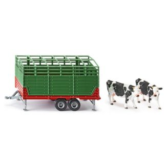 Siku Cattle Trailer with 2 Cows (Siku 2875) 1:32 | LeVida Toys