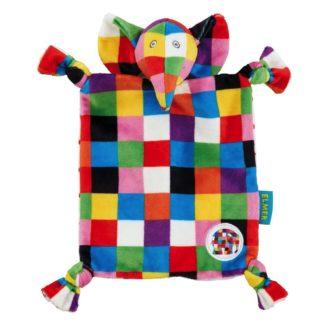 Elmer Comfort Blanket - Rainbow Designs (EL1448) | LeVida Toys