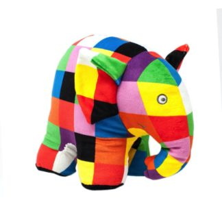 Elmer Soft Toy (Large - 21cm) - Rainbow Designs | LeVida Toys