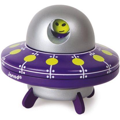 Janod Magnetic UFO 2 in 1 Toy | LeVida Toys
