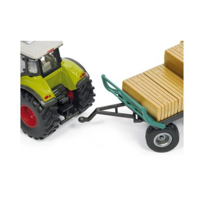 Siku Class Tractor with Loader & Oehler Bale Trailer | LeVida Toys