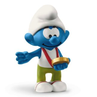The Smurfs: Smurf with Medal (Schleich 20822) | LeVida Toys
