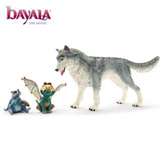 Bayala the Movie: Lykos, Nugur & Piuh (Schleich 70710) | LeVida Toys