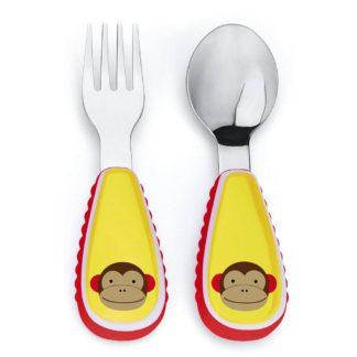 Skip Hop - Zootensils Fork & Spoon: Marshall Monkey | LeVida Toys