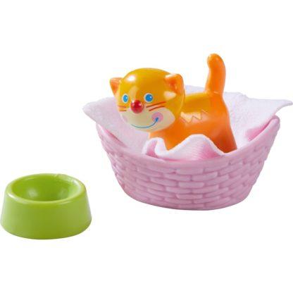 Haba Little Friends - Cat Kiki and Basket   LeVida Toys