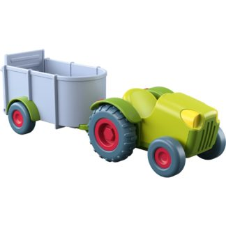 Haba Little Friends - Tractor & Trailer | LeVida Toys