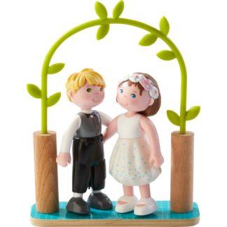 Haba Little Friends - Bendy Dolls Bride & Groom Set | LeVida Toys