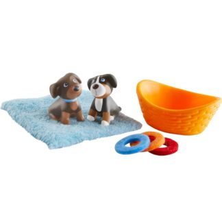 Haba Little Friends - Brown & Tricolour Puppy | LeVida Toys