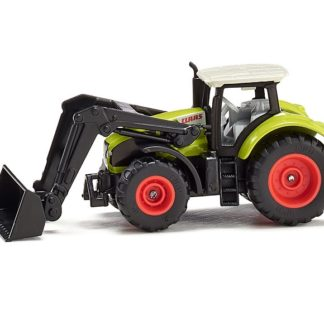 Siku Claas Axion with Front Loader Miniature Die Cast | LeVida Toys