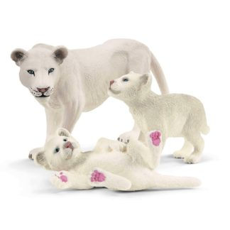 Lion Mother with Cubs (Schleich 42505) | LeVida Toys